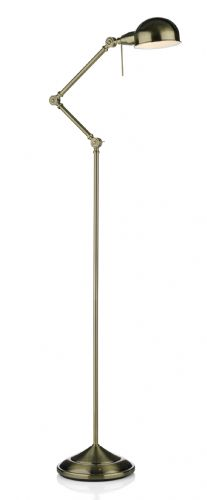 Ranger Floor Lamp Antique Brass RAN4975 (1364484) (Class 2 Double Insulated)
